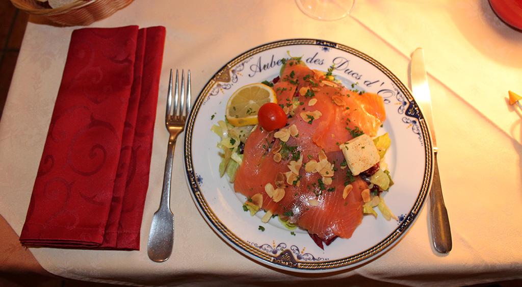 Déjeuner à Carcassonne