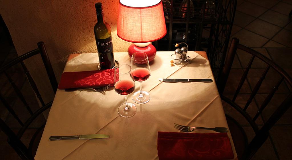 Table pour deux personnes