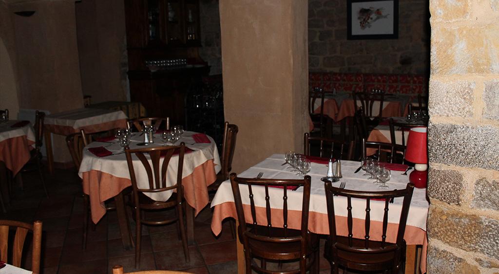 Restaurant ouvert l'hiver