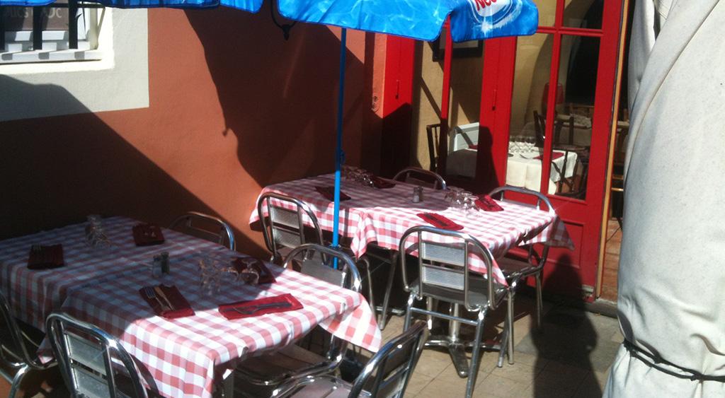 Déjeuner au soleil à Carcassonne