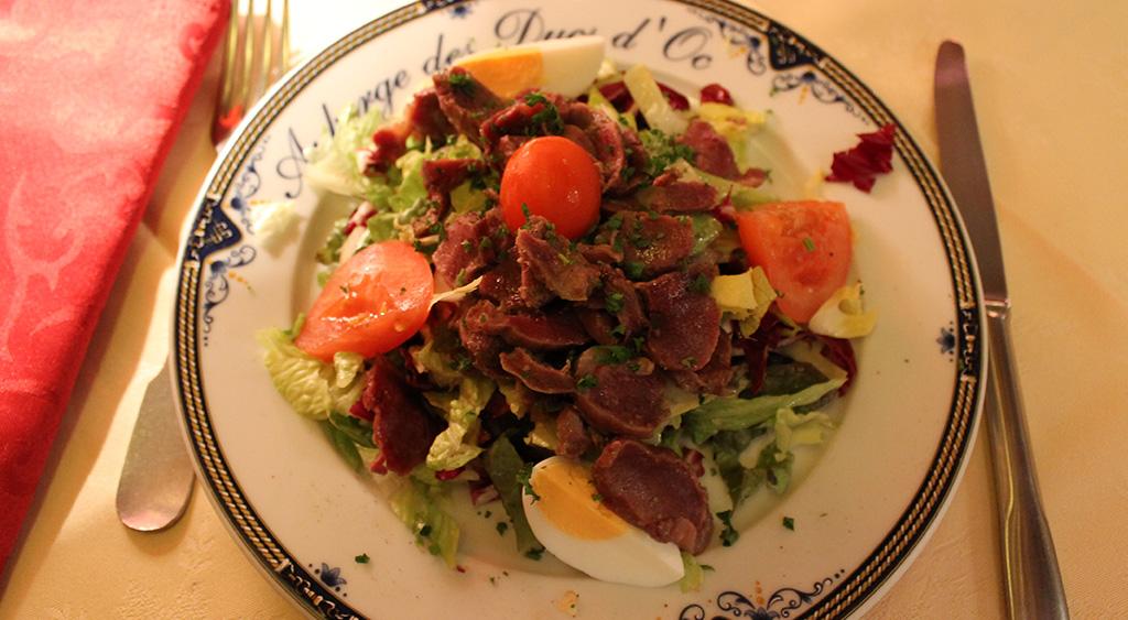 Salade de canard