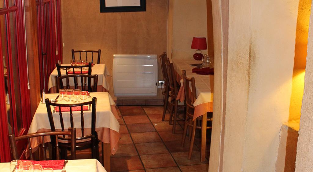 Table pour un groupe à Carcassonne